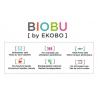 Cup Bambino Biobu - Lime, Mandarine, Rose and Lagoon