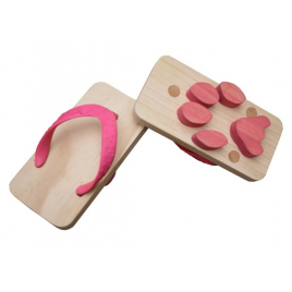 Ashiato- cat footprints sandals