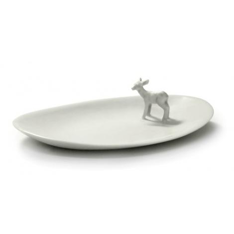 Coupelle en porcelaine Bambi d'Elise Lefebvre sur LaCorbeille.fr