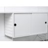 Small sideboard STRING in white