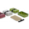 Boîte pour transporter et préparer les sandwiches de la marque Black & Blum sur La Corbeille.fr