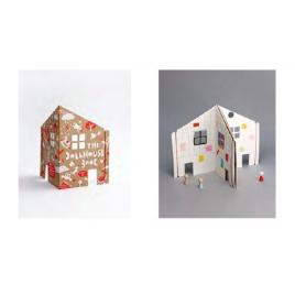 Cahier Maison de Poupée et figurines Pebbles de la marque Rock & Pebbles sur LaCorbeille.fr