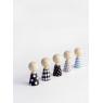 The Doolhouse Book + Pebbles, tiny wooden dools