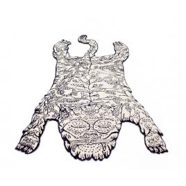 Tapis Tiger de Dylan Martorell pour Moustache sur LaCorbeille.fr
