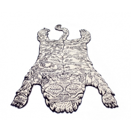 Tiger rug by Dylan Martorell
