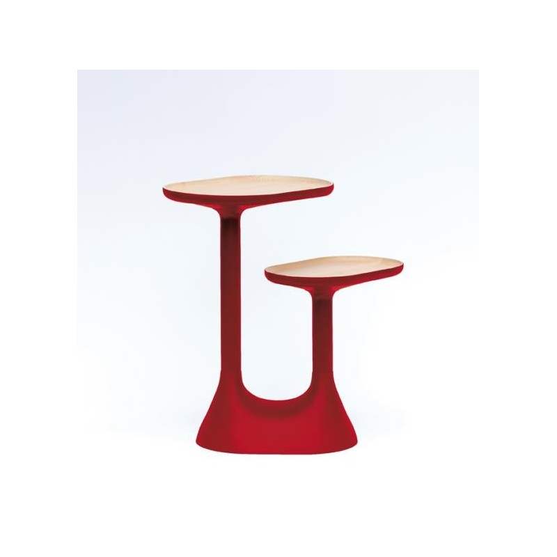 table basse 2 plateaux tournants baobab. Black Bedroom Furniture Sets. Home Design Ideas