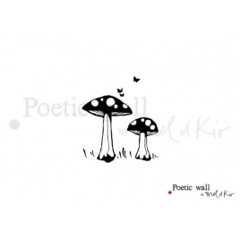 Sticker Les Champis / Mushroom