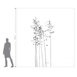 """Sticker """"Les Délicates"""" du duo Mel et Kio pour la collection Les Murmures® sur LaCorbeille.fr"""