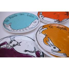 assiette Recette 100drine sur LaCorbeille.fr : Le Coq au Vin