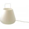 lampe à poser blanc modèle moyen
