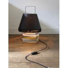 lampe à poser noir modèle moyen