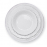 """Pair of porcelain plates """"All in One"""""""