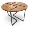 Table design Sangle ronde design Jocelyn Deris pour LaCorbeille.fr