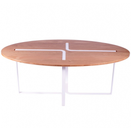 "Table ""Sangle"" ovale"