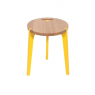 Tabouret design Canne jaune en chêne sur LaCorbeille.fr