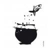 Sticker flying fish