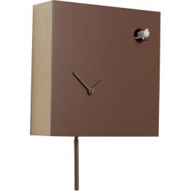 "Horloge ""Icona"" taupe - 2° Choix"