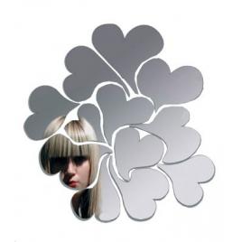 Miroir Coeurs I Love me Ich & Kar pour Domestic sur LaCorbeille.fr