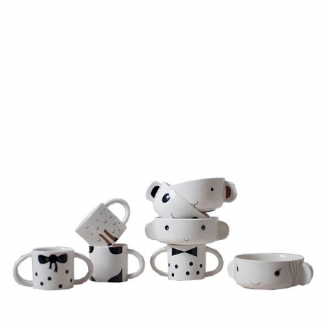 Mealtime Bowl & Cup Stacking Set