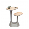 Low table - 2 rotating trays : Baobab