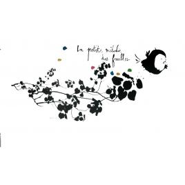 "Sticker ""La Petite Mélodie des Feuilles"" / The little melody of leaves"