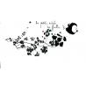 """Sticker """"La Petite Mélodie des Feuilles"""" du duo Mel et Kio pour la collection Les Murmures® sur LaCorbeille.fr"""