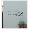 Poetic Wall : Sit on a branch
