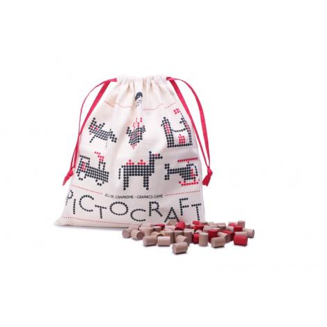Jeu créatif Pictocraft en bois la marqueLes Jouets Libres sur LaCorbeille.fr