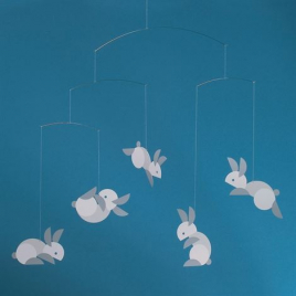 Mobile Bunnies - Flensted