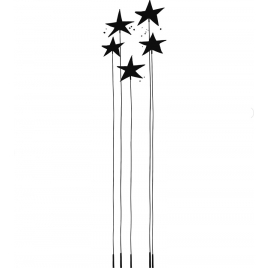 Sticker Stars flowers