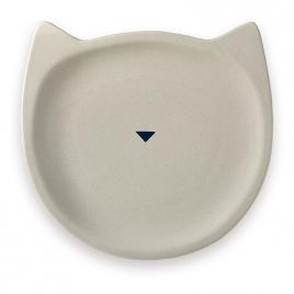 "Plate ""Cat"" Grey"
