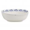 Porcelain salad bowl M. & Mrs Clynk