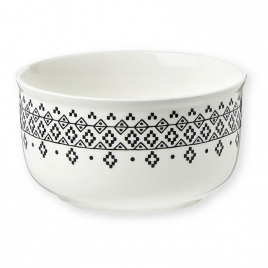 Porcelain bowl M. & Mrs Clynk