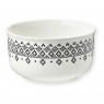 Porcelain bowl M. & Mrs Clynk