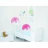 Mobile Elephant Pastel de la marque Flensted sur LaCorbeille.fr