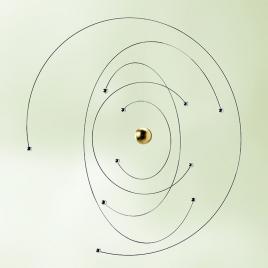 Mobile Niels Bohr Atom Model de la marque Flensted sur LaCorbeille.fr