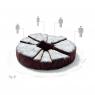 Moule à gâteau en silicone SXL Cake sur LaCorbeille.fr