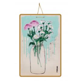 Poster 100DRINE Lisbonne 1 - Pink flowers