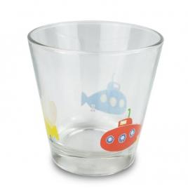 Glasses with fox, hedgehog, sub-marines or crocodile