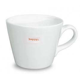 Mug avec HAPPY imprimé en relief