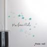 """Sticker Petites Ombres """"Ma Bonne Etoile"""" de la collection Poetic Wall sur LaCorbeille.fr"""