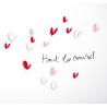 """Sticker Petites Ombres """"Haut les cœurs"""" de la collection Poetic wall sur LaCorbeille.fr"""