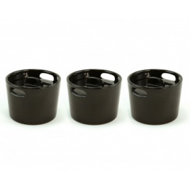 Set of 3 mini casseroles