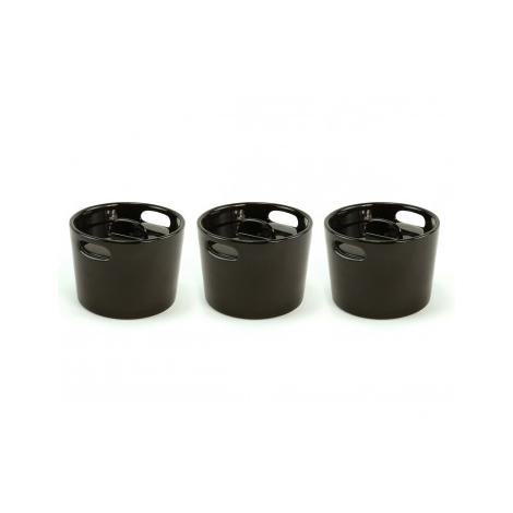 Set de 3 minicocottes en céramique de la marque Cookut sur lacorbeille.fr