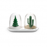 Salt & pepper shaker by Qualy