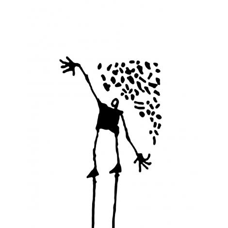 Stickers Les Tout Là Haut : the sower