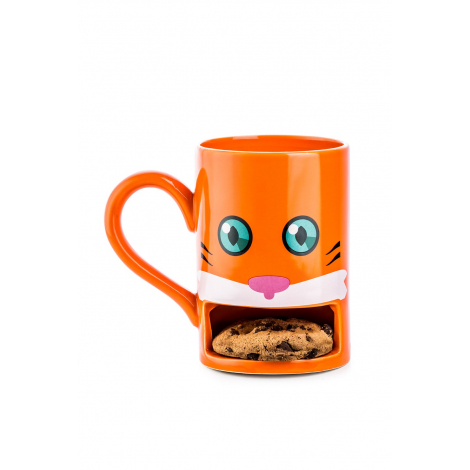 Cookie Cup :Monster : Caddy the cat