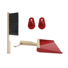 Set of Dustpan + Brush + Hook Andrée Jardin