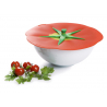 Couvercle hermétique en silicone Tomate de la marque Charles Viancin sur LaCorbeille.fr