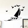 Sticker Sous le vent de la marque Poetic Wall sur LaCorbeille.fr